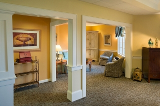 Assisted living & Memory care interior design by Methuen-headquartered Wellesley Design Consultants