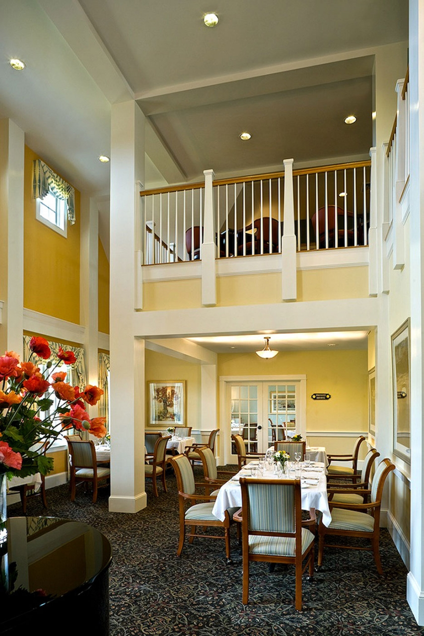 WDC provided interior design services for this assisted living and memory care community.
